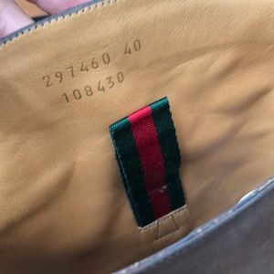 Gucci Shoes - Gucci Cocoa Leather Betis Glamour Riding Boots